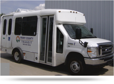 Perry County Transit White Bus